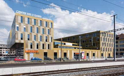 Chantier Centre 2 Gares