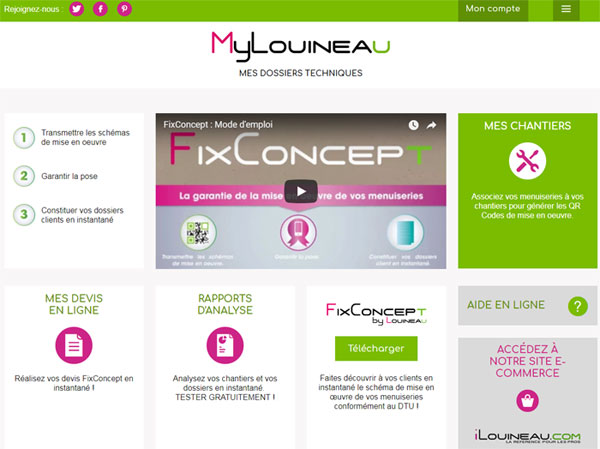 Plateforme MyLouineau