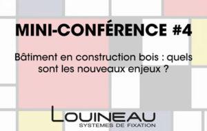 Conférence Construction bois