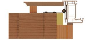 Coupe ossature bois