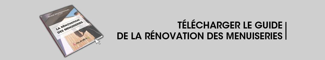 Guide de la rénovation des menuiseries
